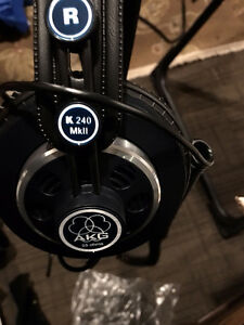 AKG Pro Audio K240 MKII Channel Studio Headphones