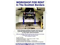 workshop for rent by the hour