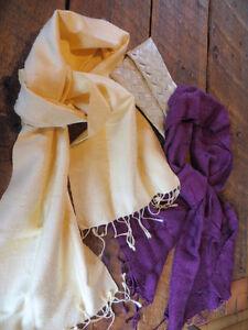Beautiful Handmade Silk Scarves