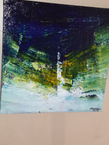 Original Abstract Acrylic on Canvas- Affordable prices