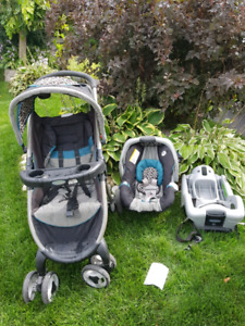 Graco classic connect exp 2021 used by 1 child