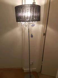 Floor lamp &2 ceiling light set