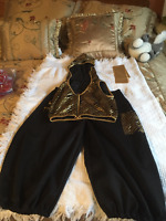 Dance Outfit - Black and Gold