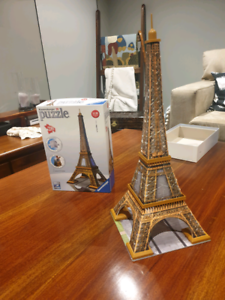 Eiffel Tower - 3D Puzzle - Swap or Sell