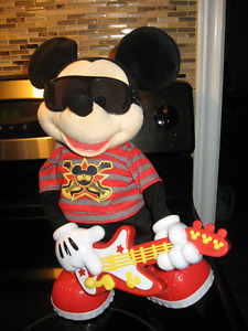 Rock Star Singing Dancing Mickey Mouse
