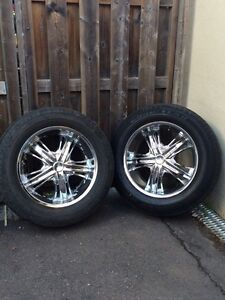 """Incubus 20"""" wheels w/rubber"""
