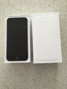 iPhone 6 16 gig black with fido