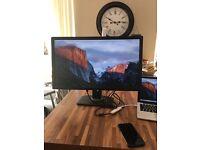 "Dell U2713HMt Monitor 27"" Gaming Widescreen WQHD LED LCD 2560x1440"
