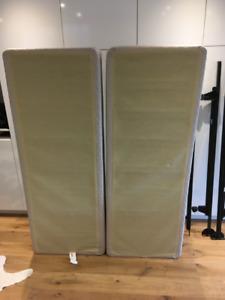 Queen Size Split Box Spring & Bed Frame