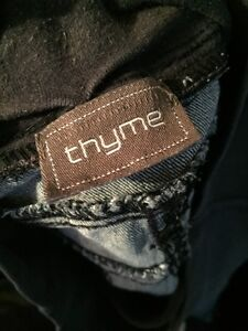 Maternity jeans (Thyme) Cambridge Kitchener Area image 2