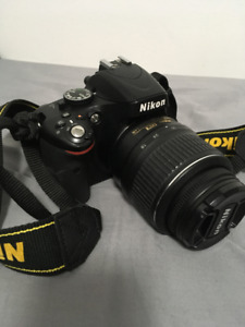 Nikon D5100 for sale with 18-55mm VR kit lens