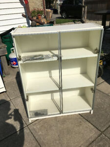 IKEA Billy Bookcase with Glass Doors - excellent condition