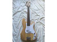 Swift Fretless Bass Guitar