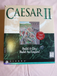 Ceasar II  Collectable PC Game