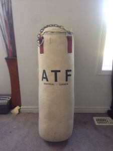 PUNCHING BAG + WEIGHTS FOR BARTER *Used*