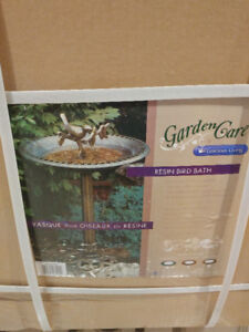 Bird Bath, brand new, still in a sealed package!