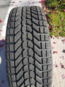 """16"""" Winter Tires For Sale. One season old selling for half price"""
