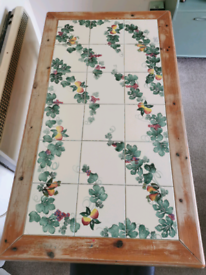 Italian Farmhouse solid dining table