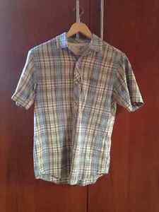 Toad and Co organic cotton short sleeve button up