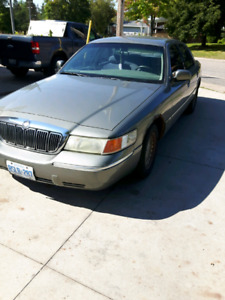 1999 grand marquis as is