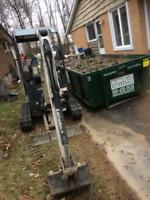 Waterproofing, Excavation, Demolition, Landscape Construction