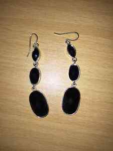 Black circles Earrings Kingston Kingston Area image 1