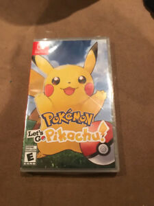 Sealed Pokémon Let's Go Pikachu Nintendo Switch