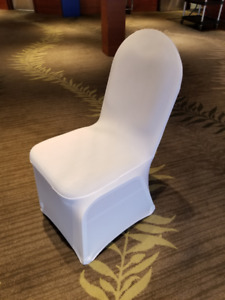 Chair covers wedding banquet party decoration - white spandex
