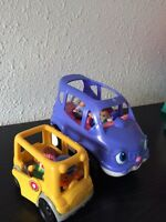 Little People bus & car