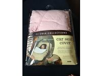 New JJ COLE Car seat cover - Pink