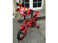 Apollo Fire Chief kids bike - 12""