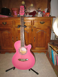 Young Adult GYPSY ROSE Acoustic Guitar With Carrying Case