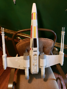 Vintage Star Wars X-wing Fighter approx. 2002