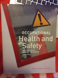 Health and Safety textbook for sale