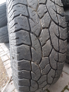 LT245/75R16 M+S Tires/Rims
