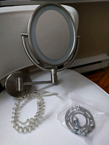 Bathroom / Makeup Mirror with Light
