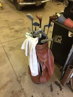 Old golf clubs for sale 20$
