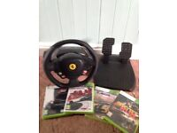 Steering wheel and games
