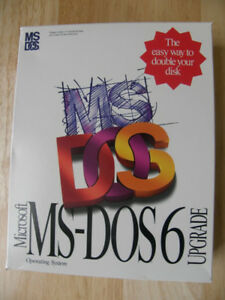 MS-DOS 6 OPERATING SYSTEM UPGRADE