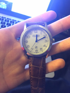 Old Coach Mens Watch
