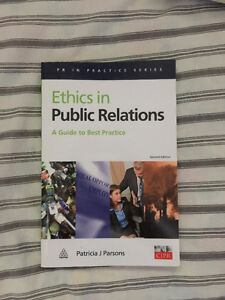 Ethics in  Public Relations Second Edition Textbook