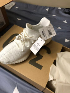 Brand new white yeezy US 8