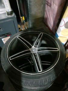 Used 18 inch rims with tires