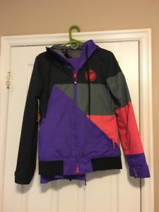 Women's Snowboard jacket and pants