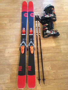 All-Mountain Ski Package 180cm ski/27.5 boot