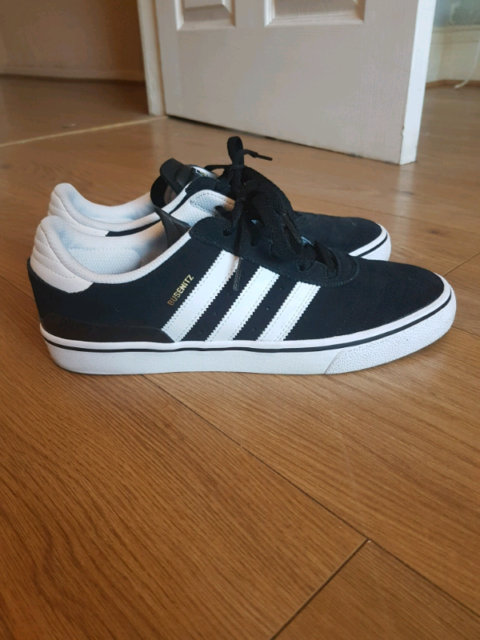 Adidas Busenitz Vulc Skate Shoes BlackRunning WhiteBlack UK 9 | in Washington, Tyne and Wear | Gumtree