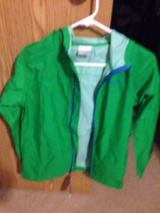 Kids large Columbia rain jacket