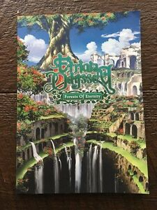 Etrian Odyssey Forests of Eternity Promotional Art Book (DS 3DS)