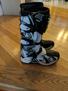 Motocross boots youth size 3