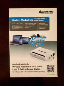IOGear MediaShair Wireless SD USB Media Hub